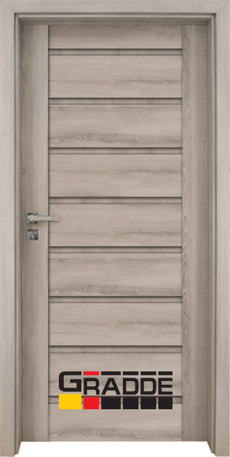 Интериорна врата Gradde Axel Voll, цвят Ясен Вералинга