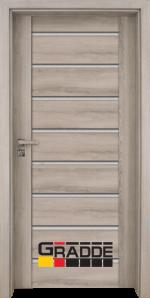 Интериорна врата Gradde Axel Glas, цвят Ясен Вералинга