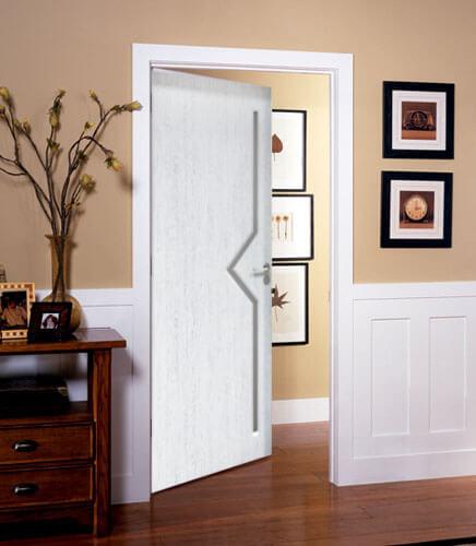 Как интериорната врата да съвпадне с вътрешното пространство във вашия дом?