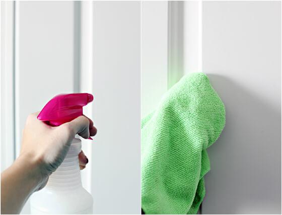 Правилно почистване на интериорни и входни врати
