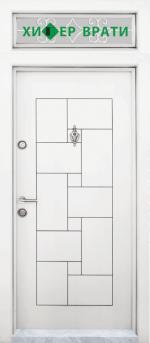 Еднокрила входна врата Т-100, Бялa