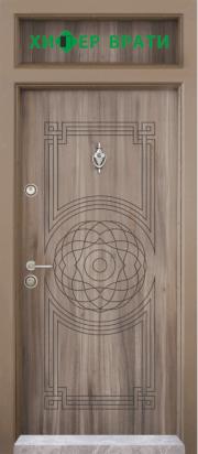 входна врата Т 110 цвят Спарта