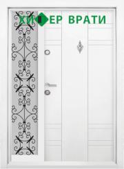 входна врата Т 598 цвят Бял