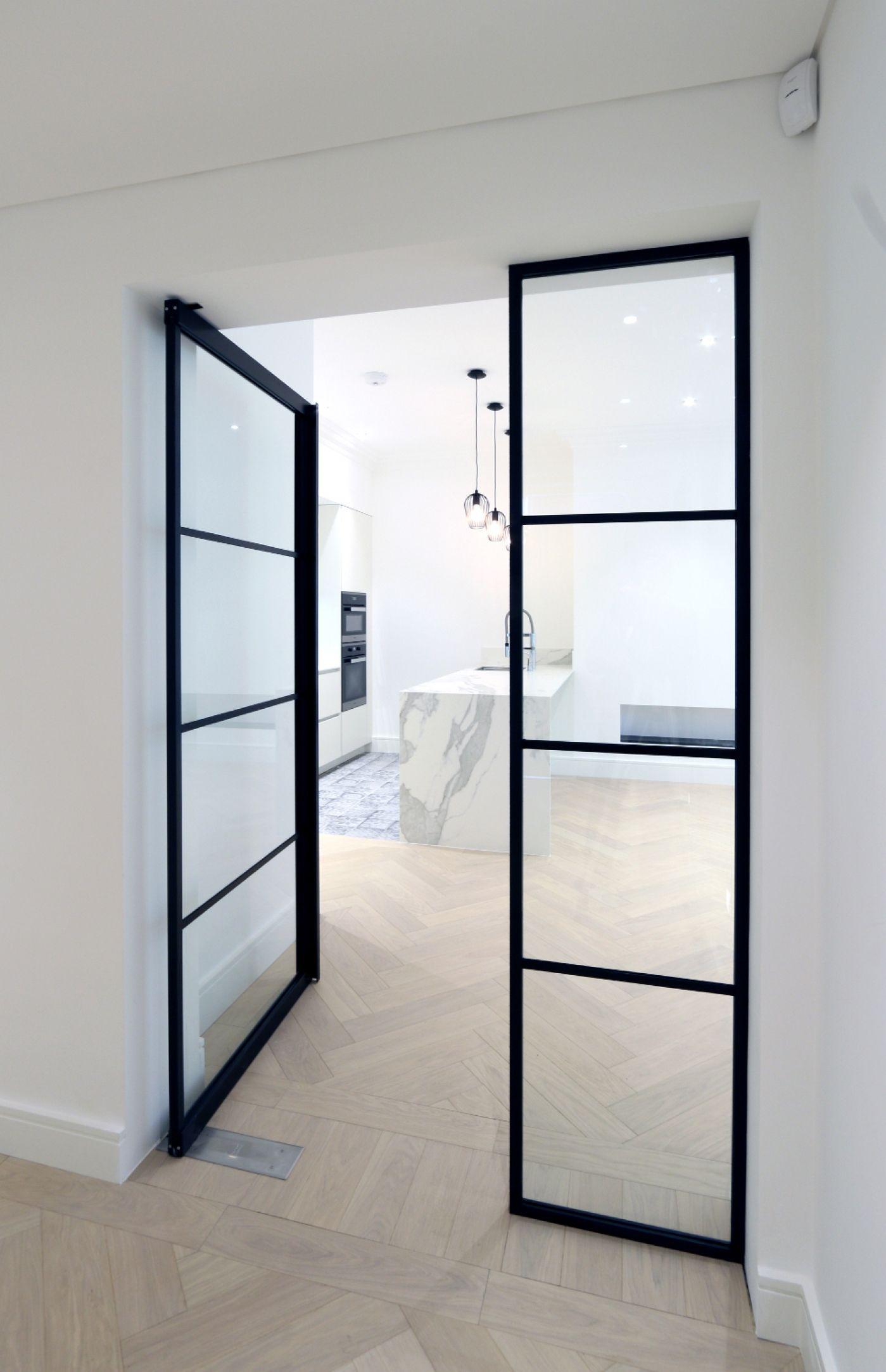 Интериорни стъклени врати