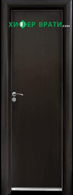Алуминиева врата за баня – STANDART цвят Венге