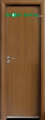 Алуминиева врата за баня – STANDART цвят Златен дъб