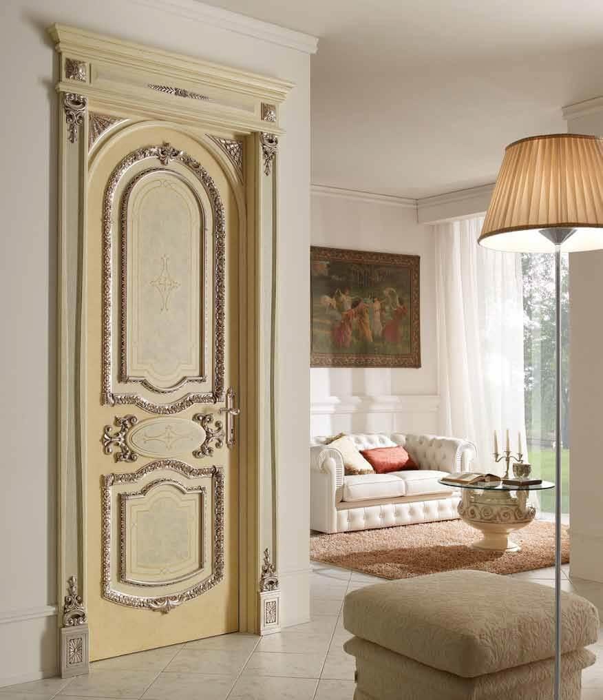 Стилът Рококо при интериорните врати