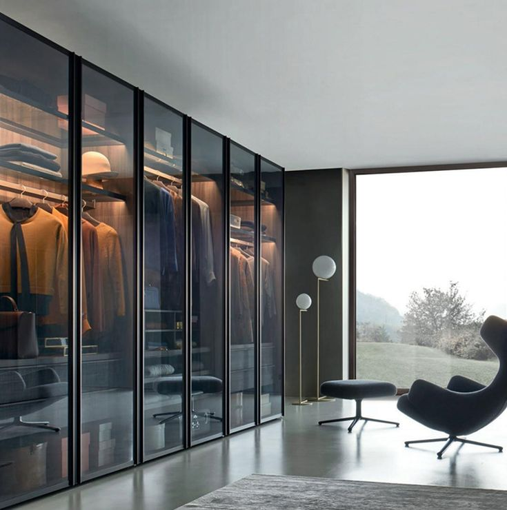 Glass Aluminum Frame Doors