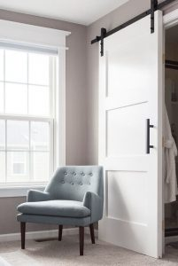 Модерна плъзгаща се интериорна врата